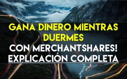 MERCHANT | Gana dinero mientras duermes! Hasta el 2.25% DIARIO | NO PAGA