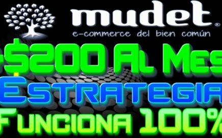 Mudet 2017 Como Ganar + $200 00 Al Mes Estrategia Funciona 100% Como Ganar Dinero Por Internet