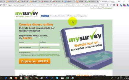 MySurvey Gana Dinero Gratis a Paypal con Encuestas Online   Gokustian