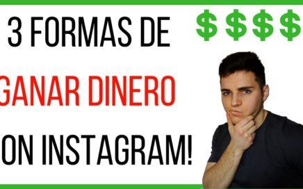 No sabes como GANAR DINERO por instagram en 2018? (haz esto)