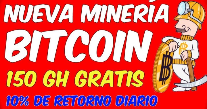 NUEVA MINERIA DE BITCOIN EN LA NUBE Pagina Para Minar Satoshis Rapido y Ganar Dinero