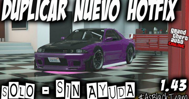 *NUEVO HOTFIX* - DUPLICAR SOLOS SIN AYUDA - GTA 5 - NUEVO BUGUEO By #AsBlackTeam - (PS4 - XBOX One)