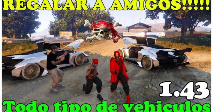 NUEVO TRUCO GTA 5 MUY FÁCIL REGALAR A AMIGOS CUALQUIER VHL PERSONAL  PS4 XBOX PC