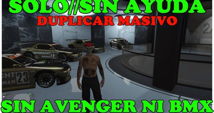 NUEVO TRUCO GTA 5*SOLO* SIN AYUDA* DUPLICAR MASIVO EN GARAJES DE OFICINA DINERO INFINITO PS4 XBOX PC