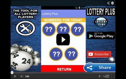 Numeros Para Hoy 01/05/2018 Mayo (Lottery Plus)