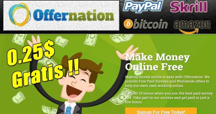 Offernation Explicación Completa | Gana Dinero fácil y rápido a Paypal | Gokustian