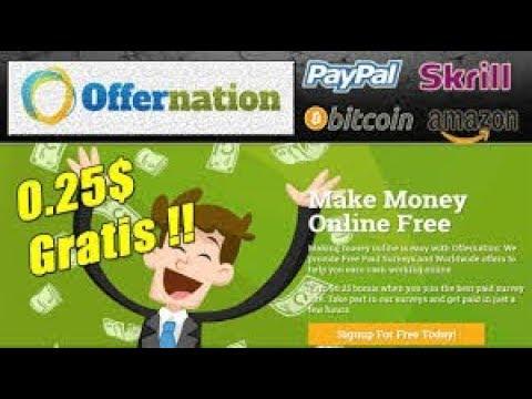 Offernation Explicación Completa - Gana Dinero Fácil y Rápido a Paypal - Hermana de SuperPay.ME