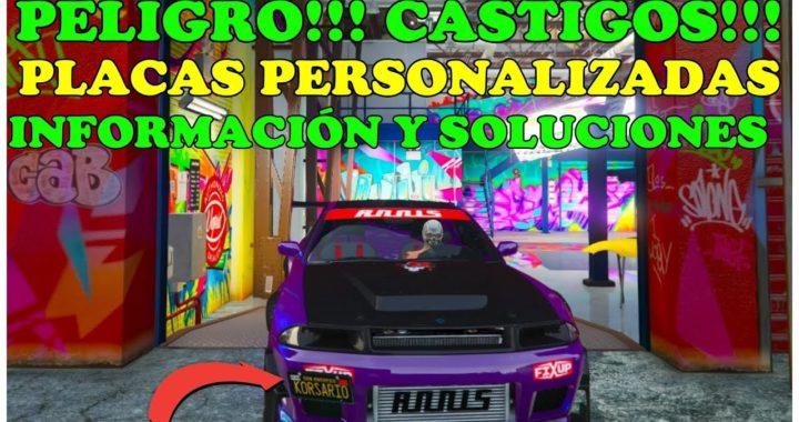 OJO!!! SANCIONES ROCKSTAR PLACAS PERSONALIZADAS!! COMO VENDER SIN CASTIGO SIN ALERTA EN GTA 5 ONLINE