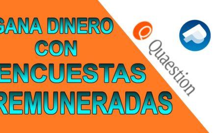 PRIMER PAGO DE QUAESTION | COMO GANAR DINERO CON ENCUESTAS REMUNERADAS 2018