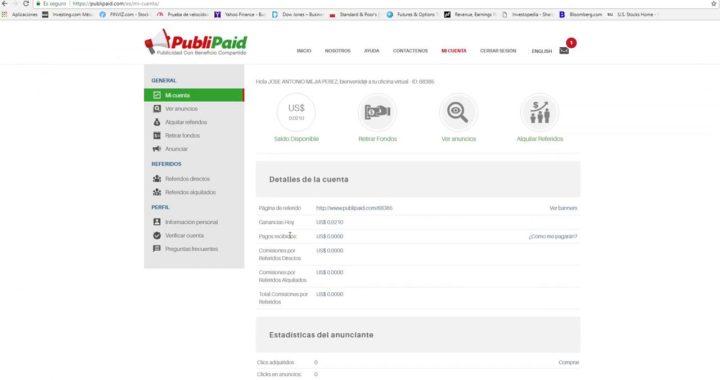PubliPaid | como ganar dinero por Internet 2018 !!!