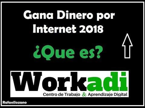 QUE ES WORKADI?   COMO GANAR DINERO POR INTERNET. WORKADI EN ESPAÑOL
