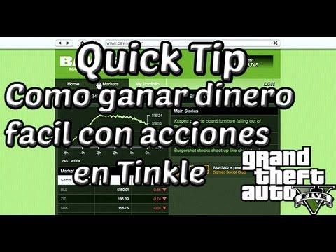 Quick Tip: Como ganar dinero con acciones en Tinkle - Grand Theft Auto V