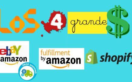 ¿Quieres hacer dinero Online? Los 4 grandes del eCommerce - Explicados, sus pro/cons Parte 1