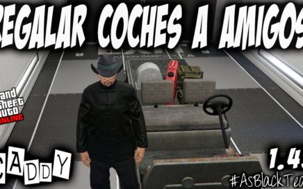 "REGALAR COCHES a AMIGOS - GUARDAR ""CADDY"" en GARAJES - GTA 5 - COCHES GRATIS - (PS4 - XBOX One)"
