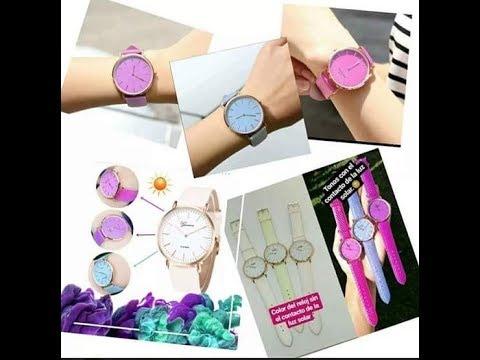 Reloj camaleón de moda
