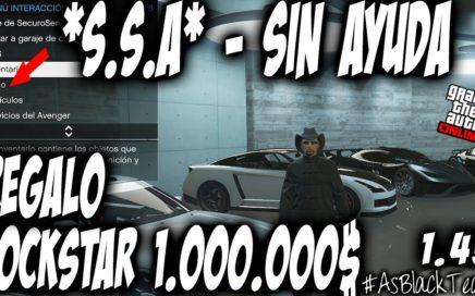 *ROCKSTAR REGALA +1.000.000$* - S.S.A - SOLOS SIN AYUDA - GTA 5 - BUGUEO MAS FACIL - (PS4 - XB1)