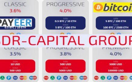 SDR-CAPITAL GROUP – PLAN DE INVERSIONES DEL 3.6% – 4.4% AL DÍA – PAGOS INSTANTÁNEOS