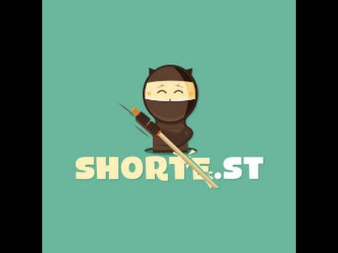 shorte.st como ganar dinero online (acortando links)