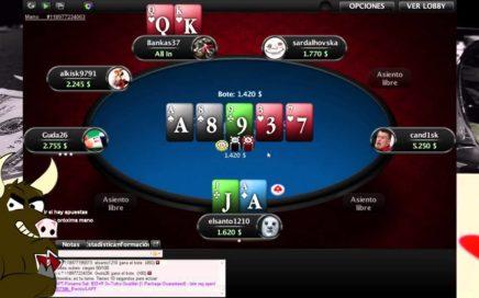 Sit&Go 27 personas 1/2 (Gana dinero con Poker Online!)(esto no es propaganda barata)