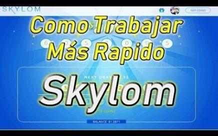 Skylom Gana dinero viendo Videos + Truco Triplicar Coins 2018