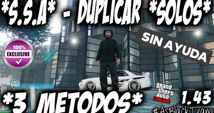 *SOLO* - DUPLICAR MASIVO - SIN AYUDA - GTA 5 - 3 METODOS DIFERENTES - BRUTAL - (PS4 - XBOX One)