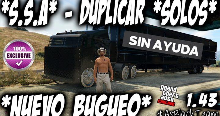 *SOLO* - DUPLICAR MASIVO - SIN AYUDA - GTA 5 - NUEVO BUGUEO -  SIN MAZE BANK - (PS4 - XBOX One)