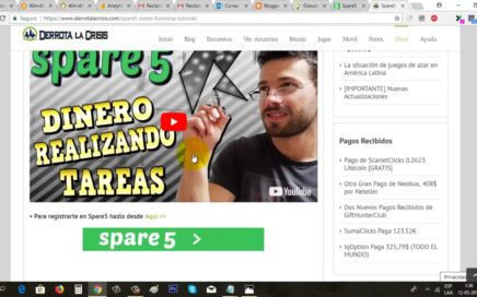 Spare5 Truco para Conseguir Referidos y Prueba de Pago Mayo 2018 | Gokustian