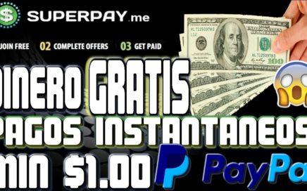 SuperPay.me Dinero GRATIS Para PayPal Mínimo De Pago $1.00 INSTANTÁNEO || Tengo Dinero