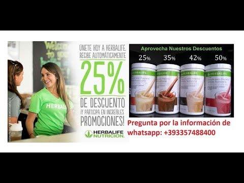 Tarjeta de descuento Herbalife 25% hasta 50% y posibilidad de ingreso extra trabajo