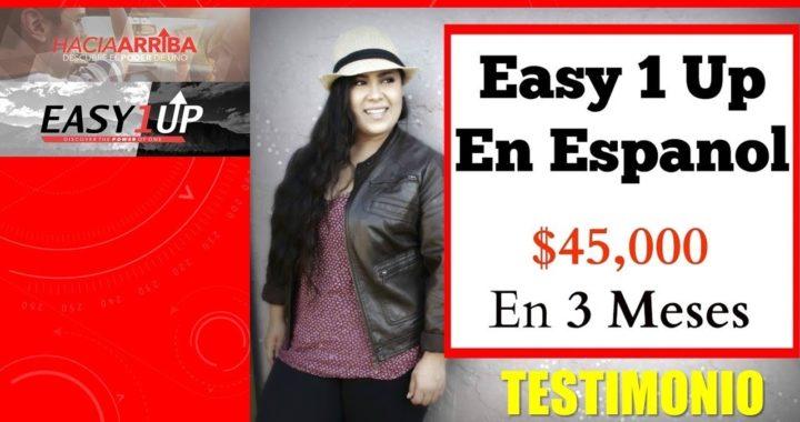 Testimonio I Latina Gana Dinero Por Internet con Hacia Arriba I Mas de $45000 dolares en 3 Meses