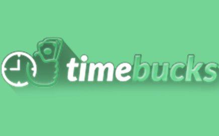 TimeBucks: Gana dinero de diversas formas