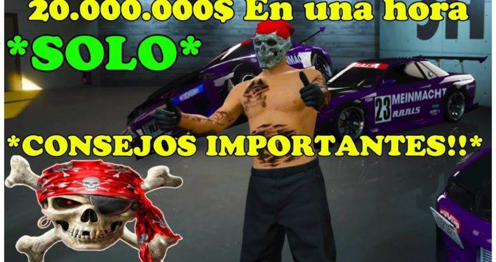 TRUCO DE GTA 5 ONLINE COMO CONSEGUIR 20.000.000$ EN UNA HORA DUPLICAR MASIVAMENTE CONSEJOS ÚTILES