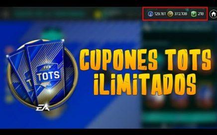 TRUCO PARA CONSEGUIR CUPONES DE TOTS ILIMITADOS | EL MAYOR BUG FIFA MOBILE