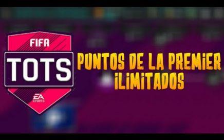 TRUCO PARA CONSEGUIR PUNTOS DE LA PREMIER LEAGUE | EL MAYOR BUG FIFA MOBILE
