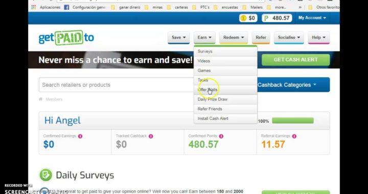Tutorial de mis pagos y como ganar dinero a PayPal