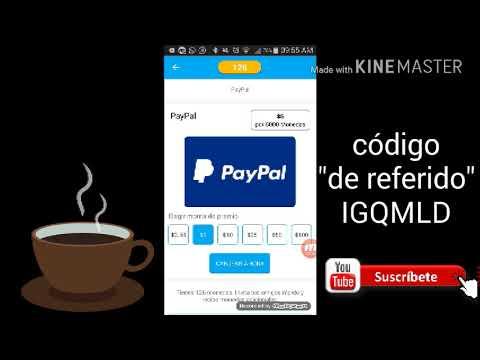 Una de las mejores app para ganar dinero por Paypal 2018