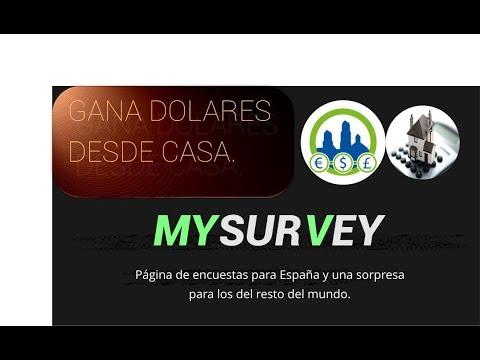 Video para ganar dinero desde casa con My Survey.   Derrota la Crisis.