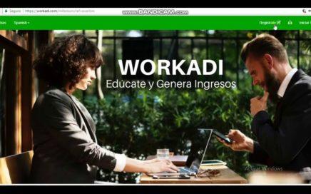 WORKADI COMO EMPEZAR - COMO REGISTRARSE EN WORKADI - GANAR DINERO EXTRA 2018