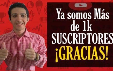 Ya Somos Más de 1K SUSCRIPTORES ¡GRACIAS! Dinero Online Venezuela DLC