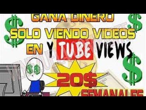 !!!YTVERS GANA DINERO _X_ VIENDO VIDEOS EN AUTOMATICO $0.20 POR  REFERIDO 2018!!!
