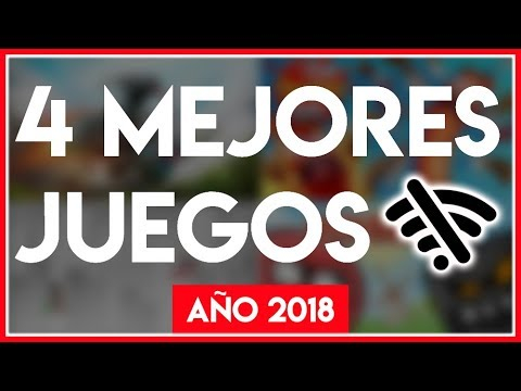 4 Juegos MÁS DIVERTIDOS y SIN INTERNET | GRATIS para Teléfonos Celulares ANDROID 2018