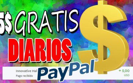 5$ DIARIOS CON ESTA WEB! Gana Dinero Por Internet | DINERO GRATIS PARA PAYPAL