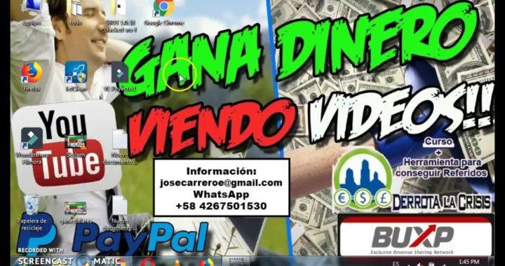 Actualización de Flamzy Gana Dinero Viendo Vídeos+Prueba de Pago 2018
