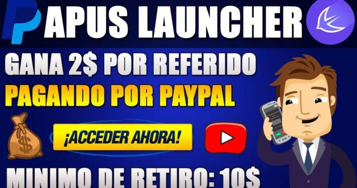 APUS LAUNCHER | GANA 2$ por REFERIDO con esta APP // JUNIO 2018 | Josue Moncada