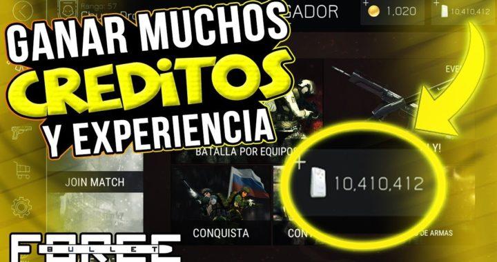 Bullet force - !!GANAR MUCHOS CRÉDITOS Y EXPERIENCIA!! (Facil & Rapido) (Sin Hacks)
