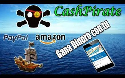 CashPirate Tutorial Completo en Español | Como ganar Dinero a Paypal con tu Android