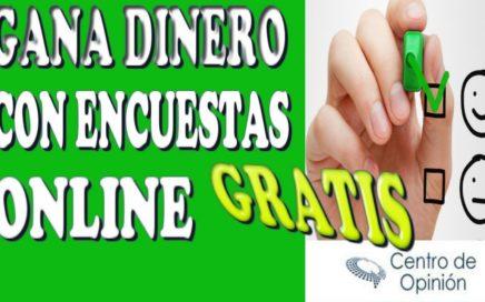CENTRO DE OPINION|GANA DINERO CON ENCUESTAS PAYPAL|SORTEO 1250€!!!