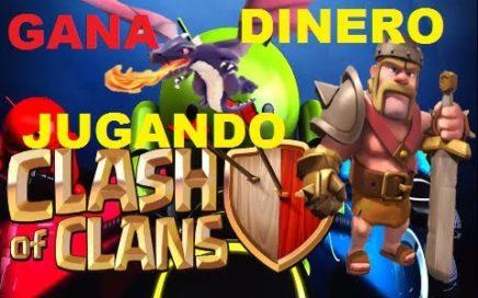 Clash OF Clans /GANA DINERO JUGANDO ;Unete AL Clan