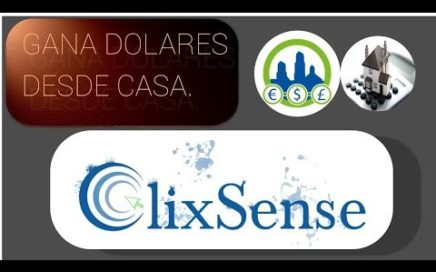ClixSense Ganando Dinero en Casa | Derrota la Crisis.