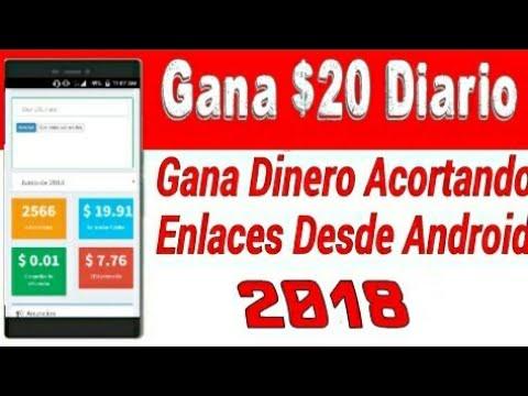 Como Ganar $20 Todos los Días Solo Acortando Enlaces / El Mejor Acortador 2018 / Tu Mundo Android